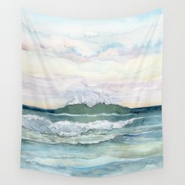 Distant Wave Wall Tapestry