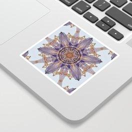 Passion Flower Mandala Sticker
