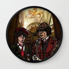 little hats all around Wall Clock