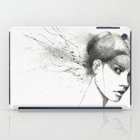 marina iPad Cases featuring Marina by Veronica Cosimetti Art