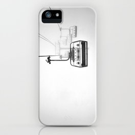 Lift to heaven iPhone Case