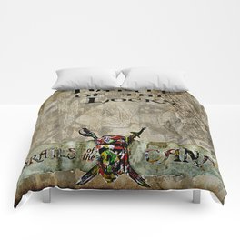 Battle of the locks bywhacky Comforters