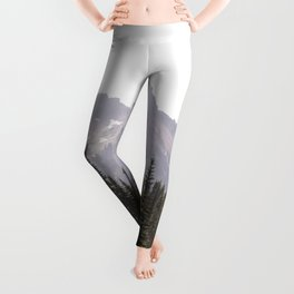 Mountain Wilderness - Nature Photography Leggings