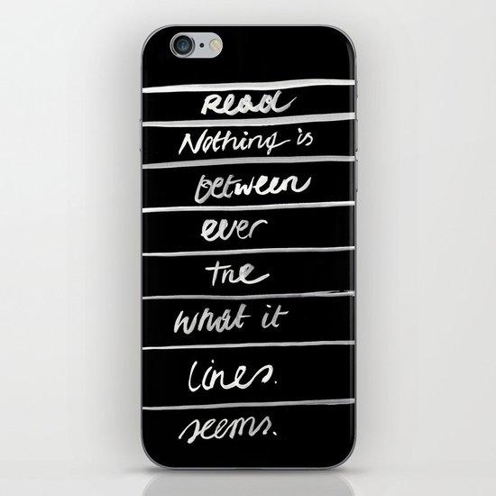 LINES /2/ iPhone & iPod Skin