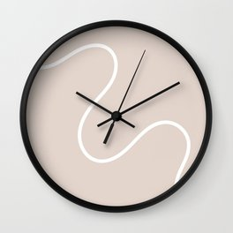 Squiggle Wall Clock