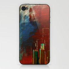 Death of Detriot - Skyline  iPhone & iPod Skin
