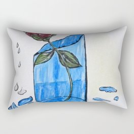 Broke Promise Rose Rectangular Pillow