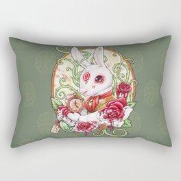 Rabbit Hole Rectangular Pillow