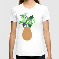fig T-shirts featuring fig by Little Lost Garden