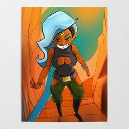 Canyon Ysdrid Poster
