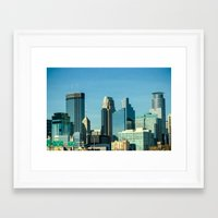 minnesota Framed Art Prints featuring Minnesota by Lindsey Hart Photography
