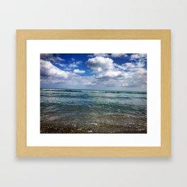 Juno Beach, Florida Framed Art Print