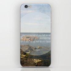 Bilbo Baggins iPhone & iPod Skin