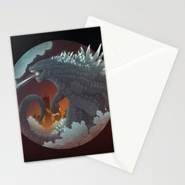 Godzilla king of monsters Stationery Cards