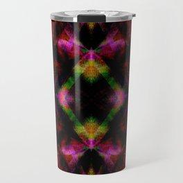 Cute Neon Glow Pattern  - Minimal Travel Mug