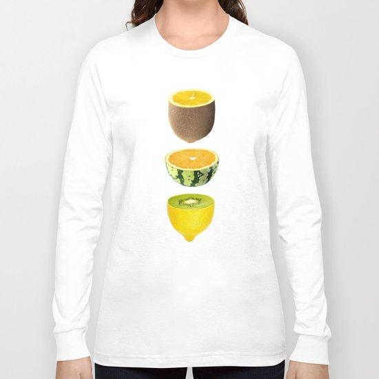 Mixed Fruits Long Sleeve T-shirt