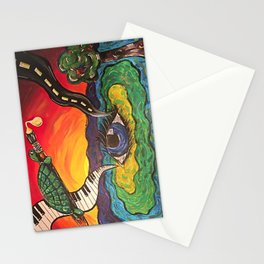 Melting Paint Stationery Cards