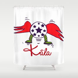 HERO2 Shower Curtain