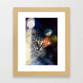 Suspicious Framed Art Print