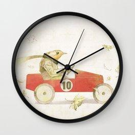 Bird runner Wall Clock