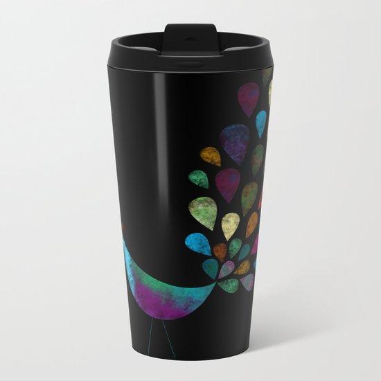 color 6 Metal Travel Mug
