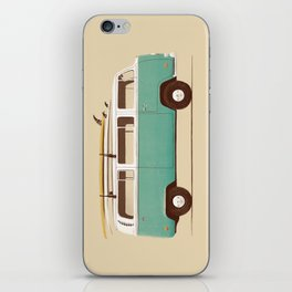 Van - Blue iPhone Skin