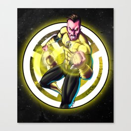 Sinestro - Yellow Lantern Canvas Print