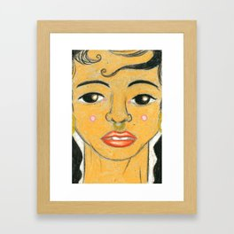 FKA TWIGS V2 Framed Art Print
