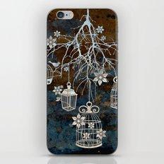 Bird Cage Chandelier iPhone & iPod Skin
