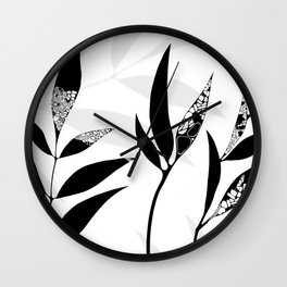 Shadow Play #2 Nature's Best Wall Clock