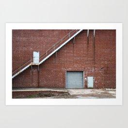 Industrial Grunge 3 Art Print