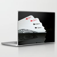 ace Laptop & iPad Skins featuring ACE!!!! by Brian Raggatt