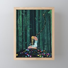 In the Midst of the Gloom of the Enchanted Woods by Kay Nielsen Framed Mini Art Print