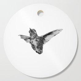 Hummingbird in flight by annmariescreations Cutting Board