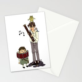 Thanks For Supporting my Bassooning Stationery Cards