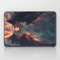 actor iPad Cases featuring The Angel of the Lord by Alice X. Zhang