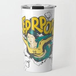 Sam KERR-POW! Travel Mug