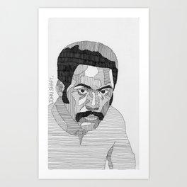 John Shaft. Art Print