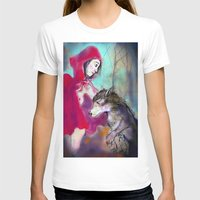 red hood T-shirts featuring red hood by AliluLera