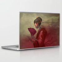 blood Laptop & iPad Skins featuring Blood by Yoncho Yonchev