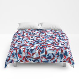 Break the Glass Ceiling! Red White & Blue Comforters