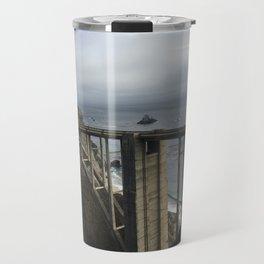 Looking through Bixby Travel Mug