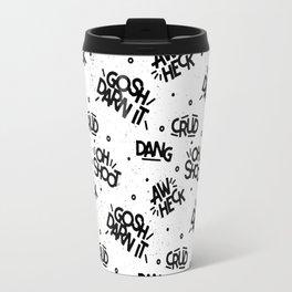 PG Cussin' Pattern Travel Mug