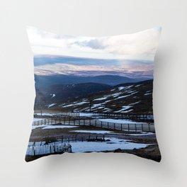 CairnGorm Mountain Throw Pillow