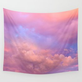 See the Dawn (Dawn Clouds Abstract) Wall Tapestry