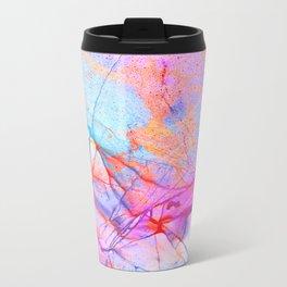 Graffiti Candy Marble Metal Travel Mug