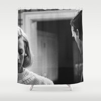 men Shower Curtains featuring MAD MEN by VAGABOND