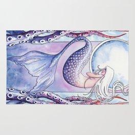 Deep Sea Mermaid Rug