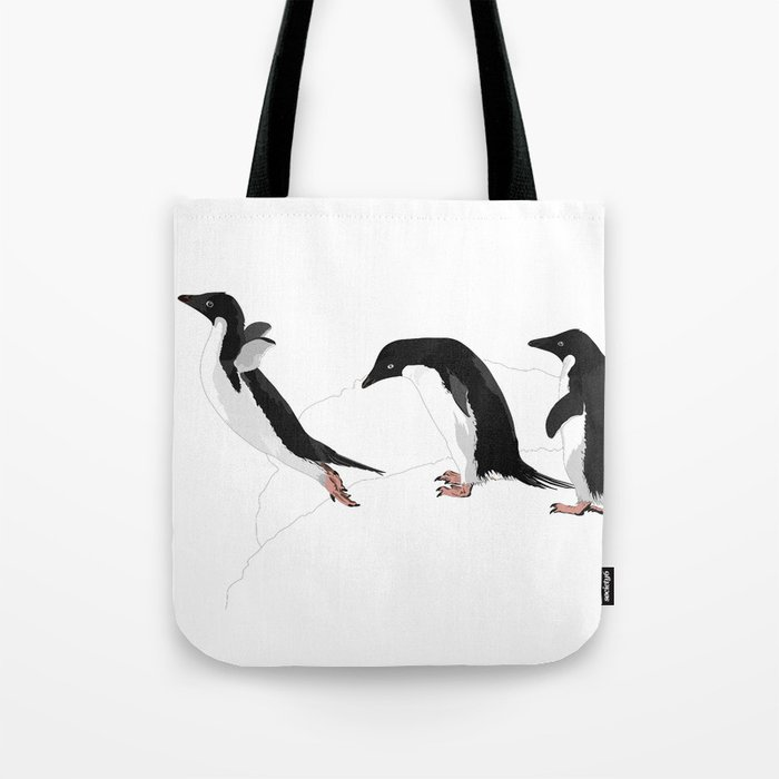 Adelie Jumping Tote Bag