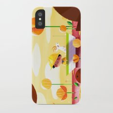Golden Afternoon Slim Case iPhone X